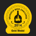 Brussels Beer Challenge 2014 Gold
