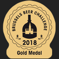 Brussels Beer Challenge 2018 Gold