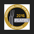 Craft Beer Award 2016 Platin