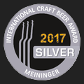 Craft Beer Award Silber 2017